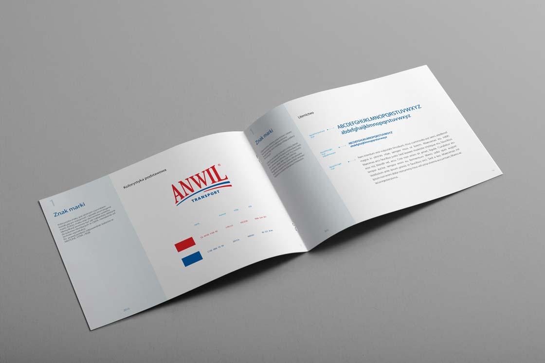 Tworzenie logo firmy ANWIL