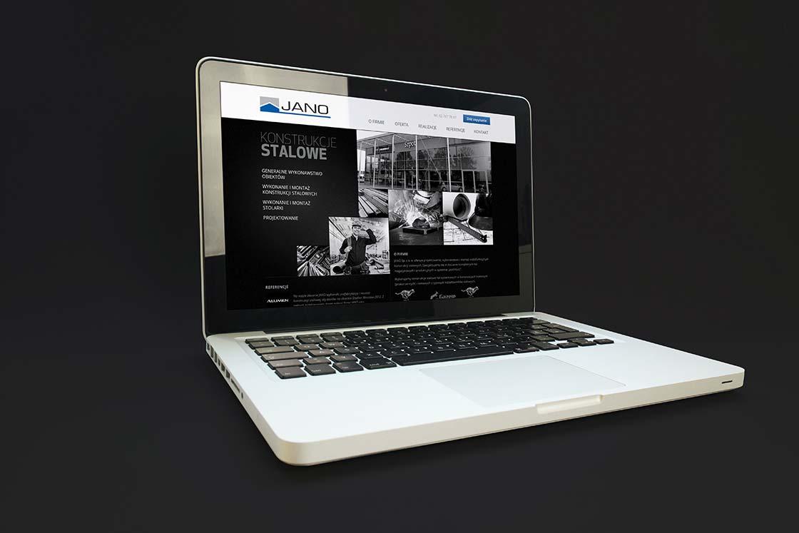 strona internetowa JANO