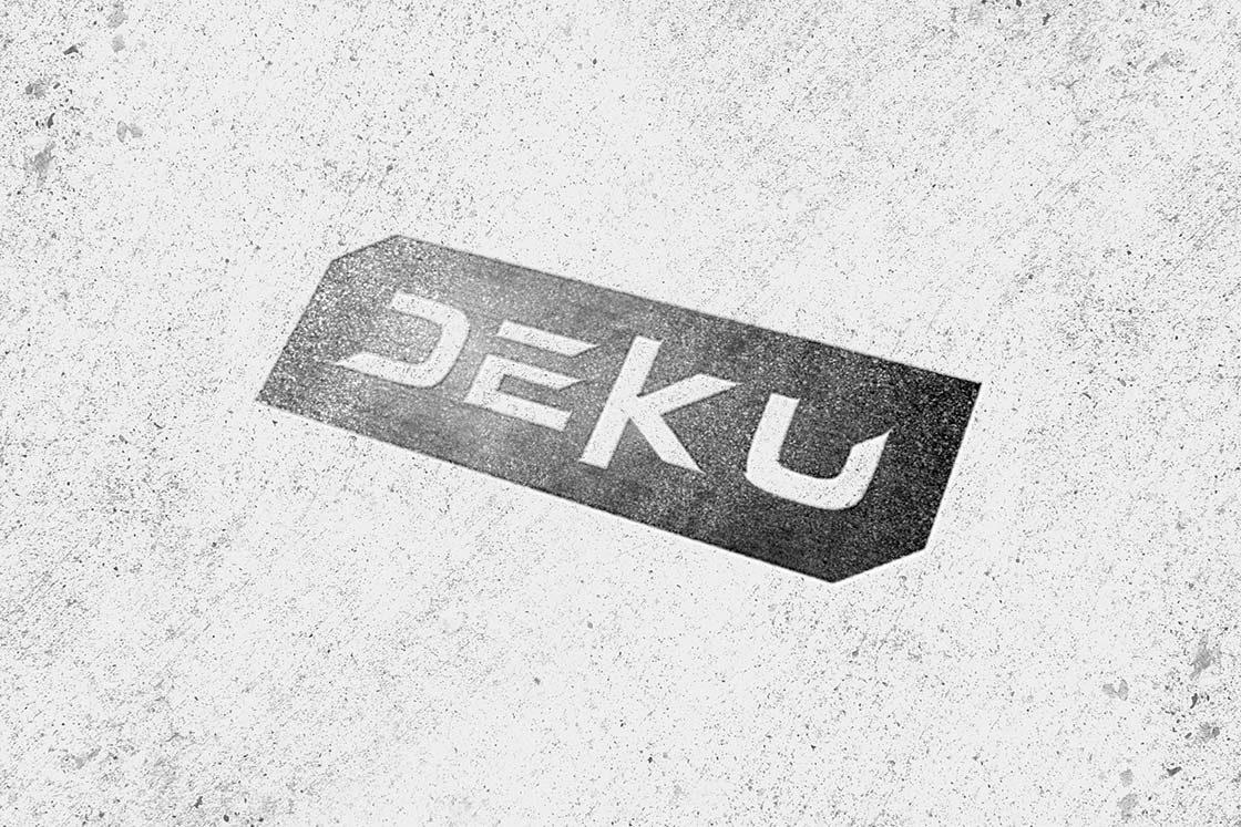 logotyp deku
