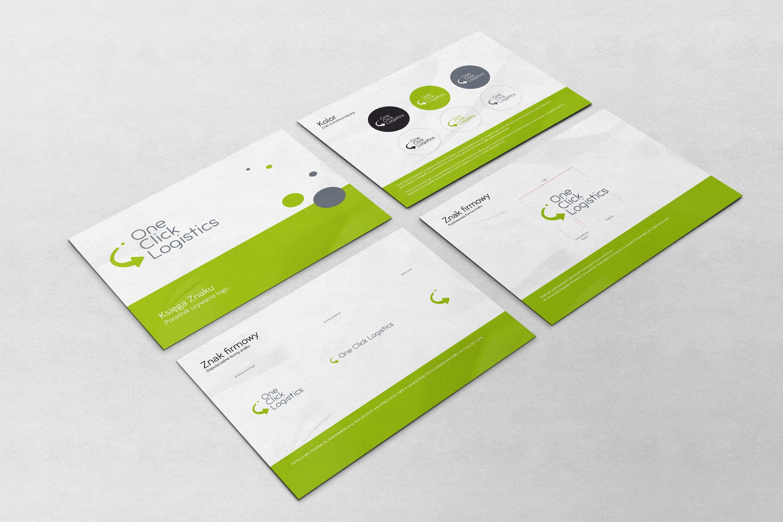 Tworzenie logo firmy One Click Logistics