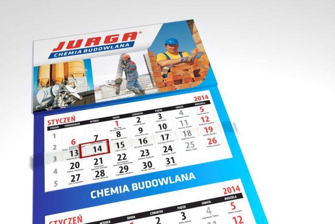 Kalendarz trójdzielny jurga chemia budowlana