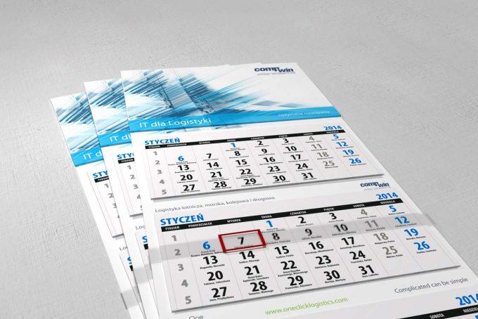Kalendarz trójdzielny comp-win