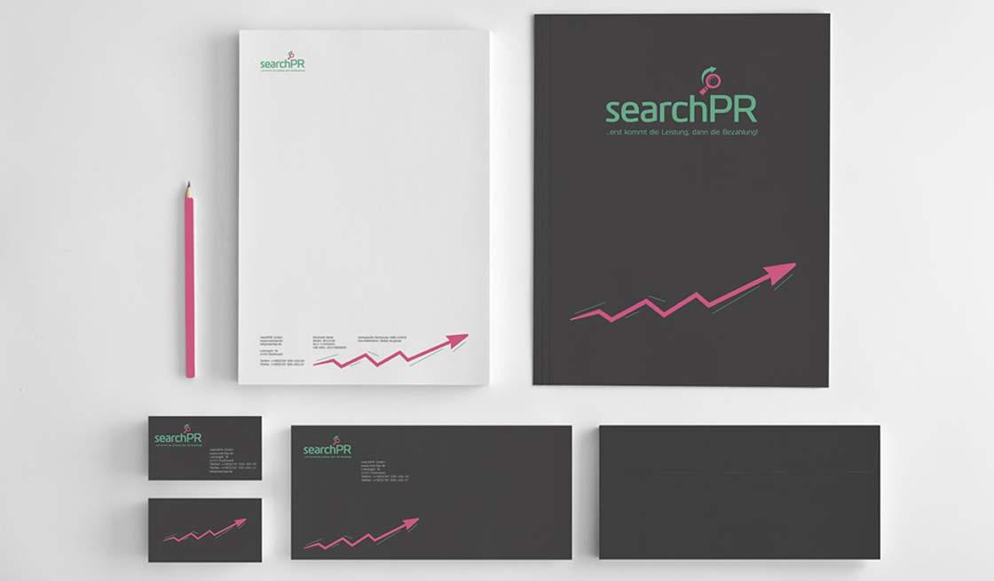 Identyfikacja wizualna searchPR