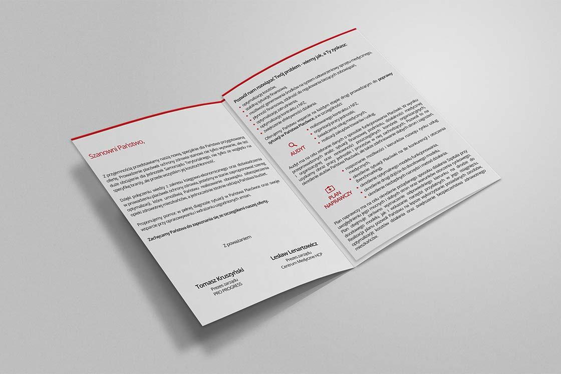 projektowanie ulotek i broszur