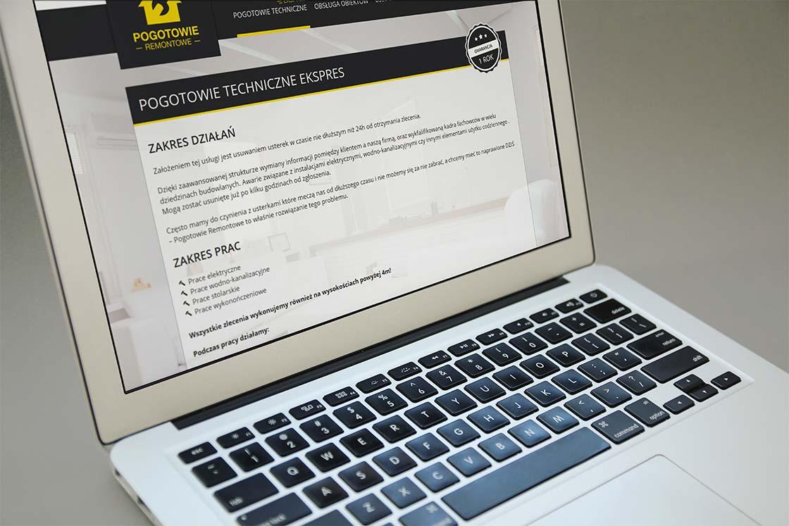 projektowanie witryn internetowych