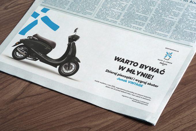 reklamy prasowe przykłady inspiracje