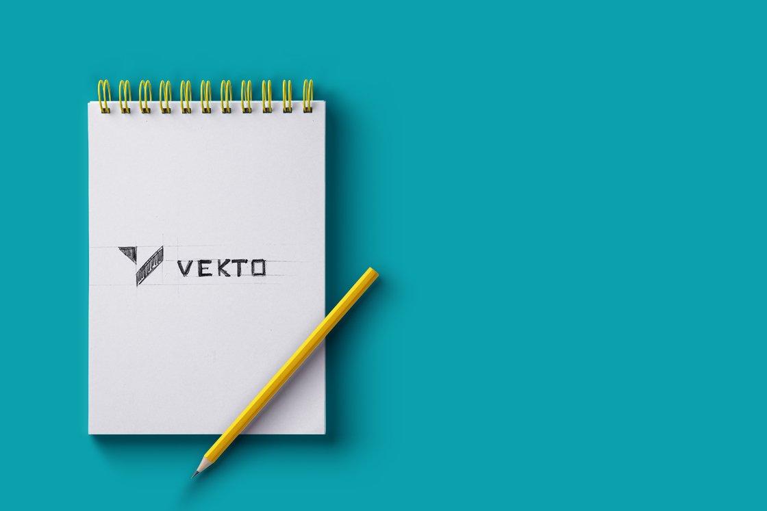 vekto logo szkic