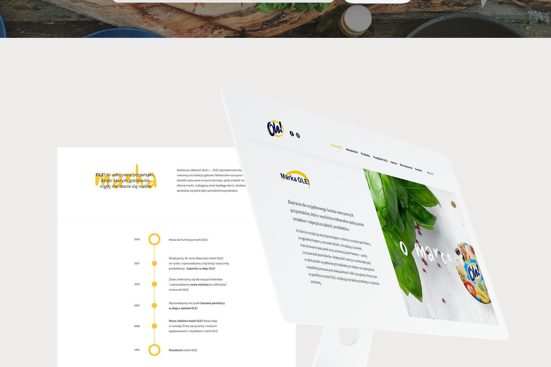 agencja interaktywna poznań dla marki ole