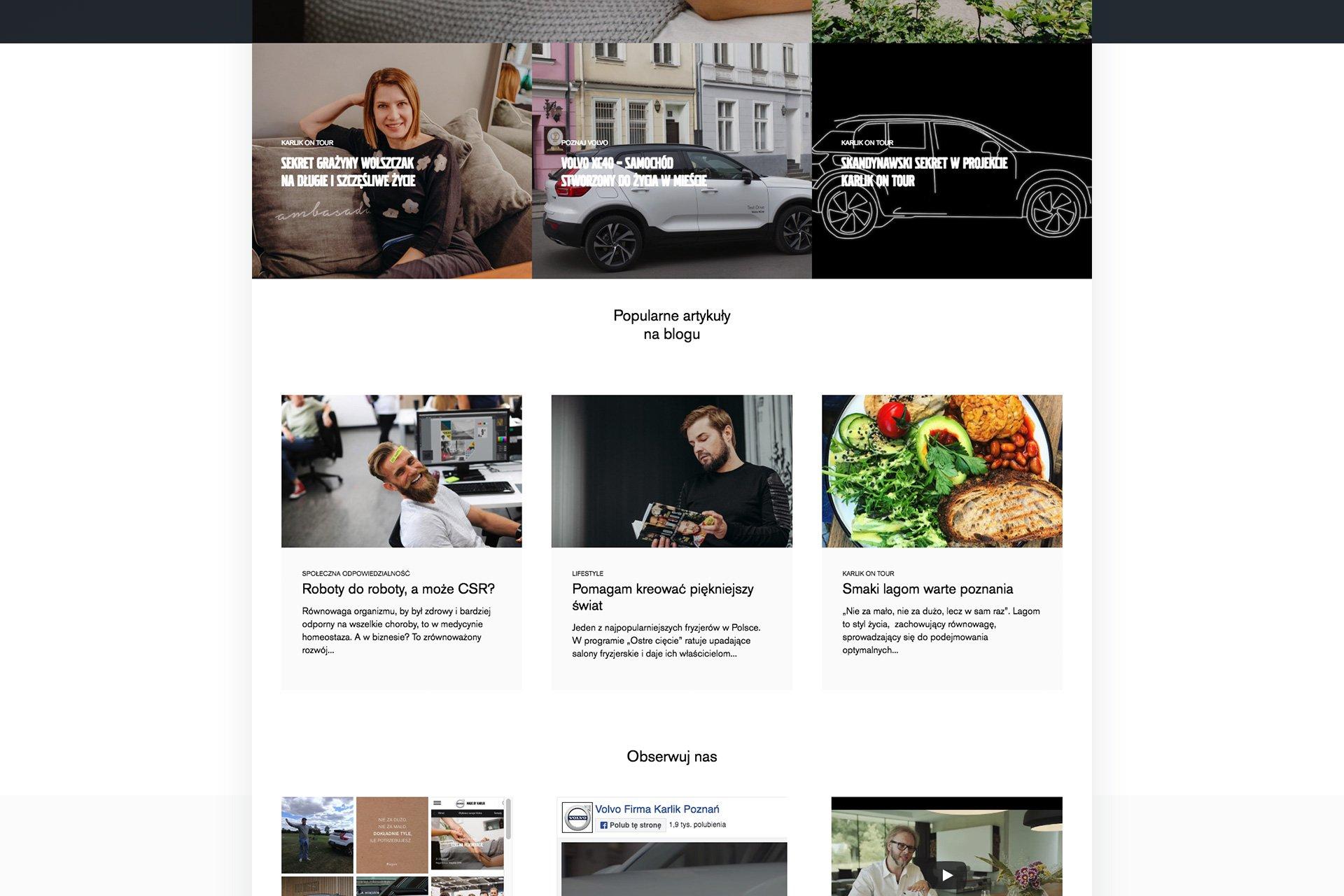projektowanie blogów