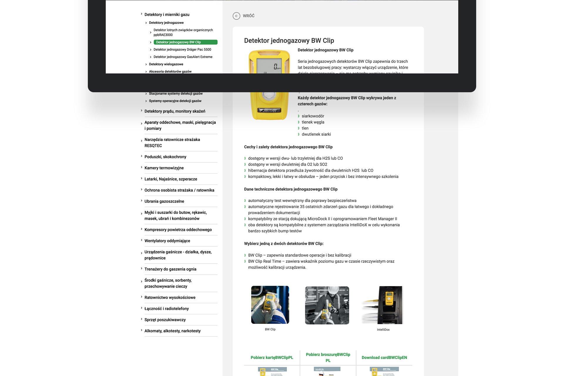strona produktu