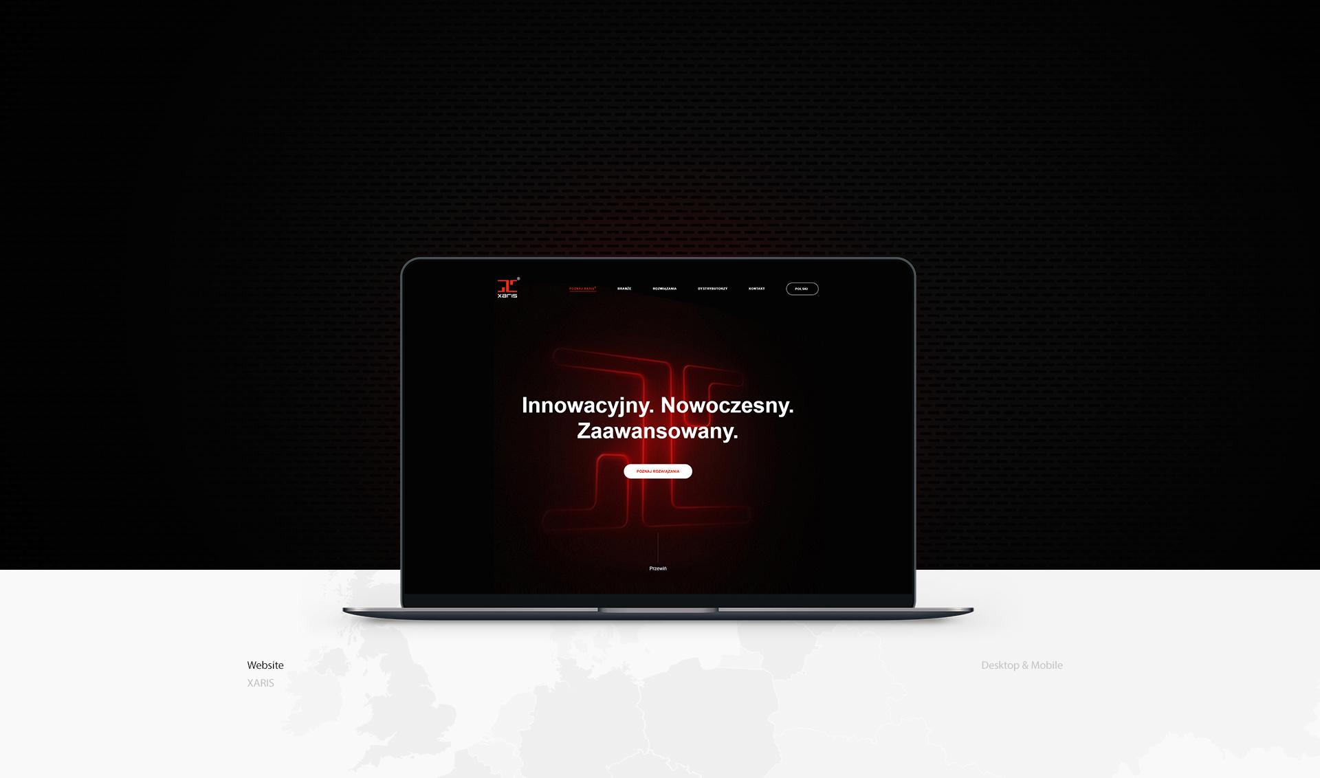 tworzenie stron www xaris w Poznaniu