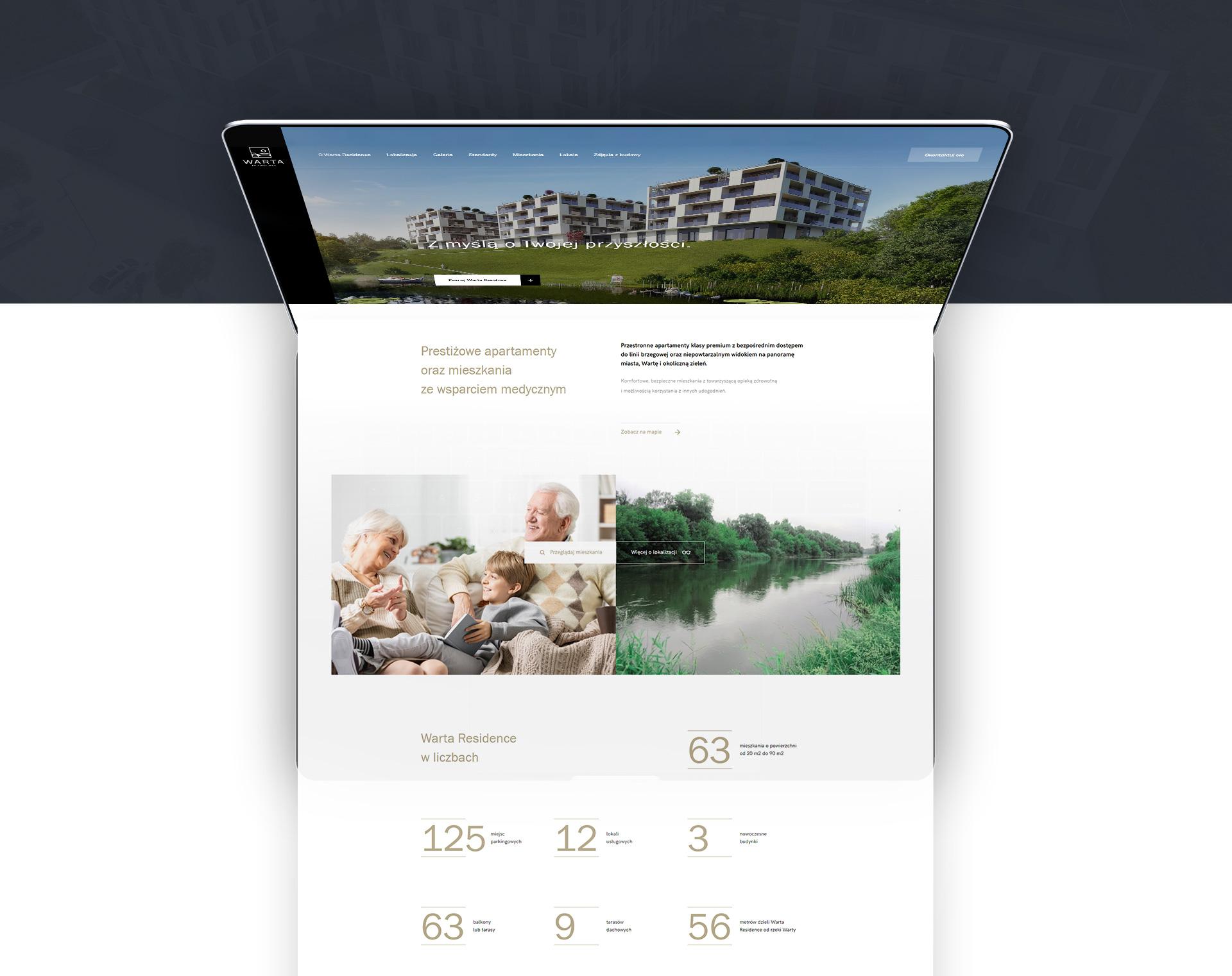 responsywna strona www dewelopera poznań