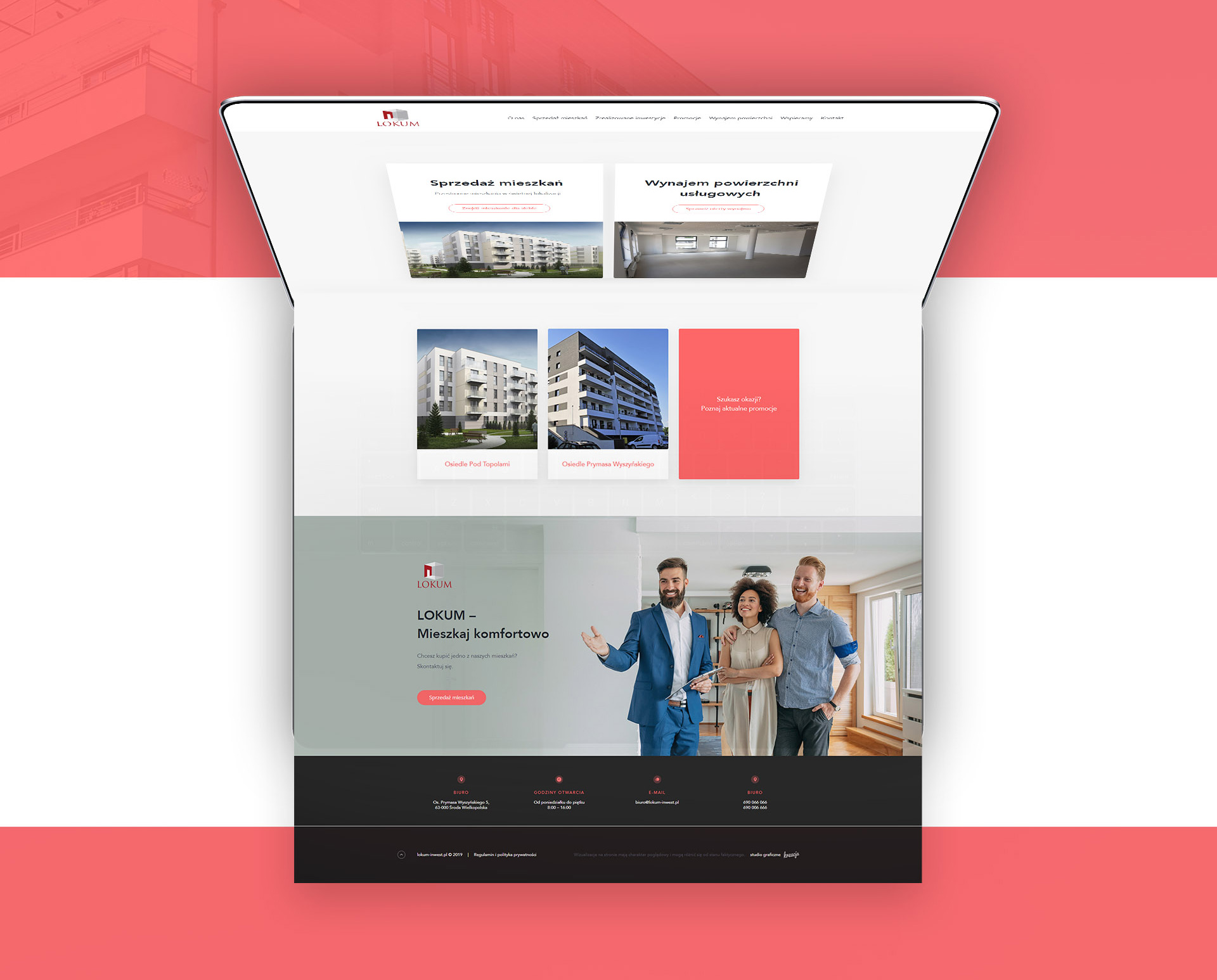 profesjonalna strona www dewelopera lokum inwest środa wielkopolska