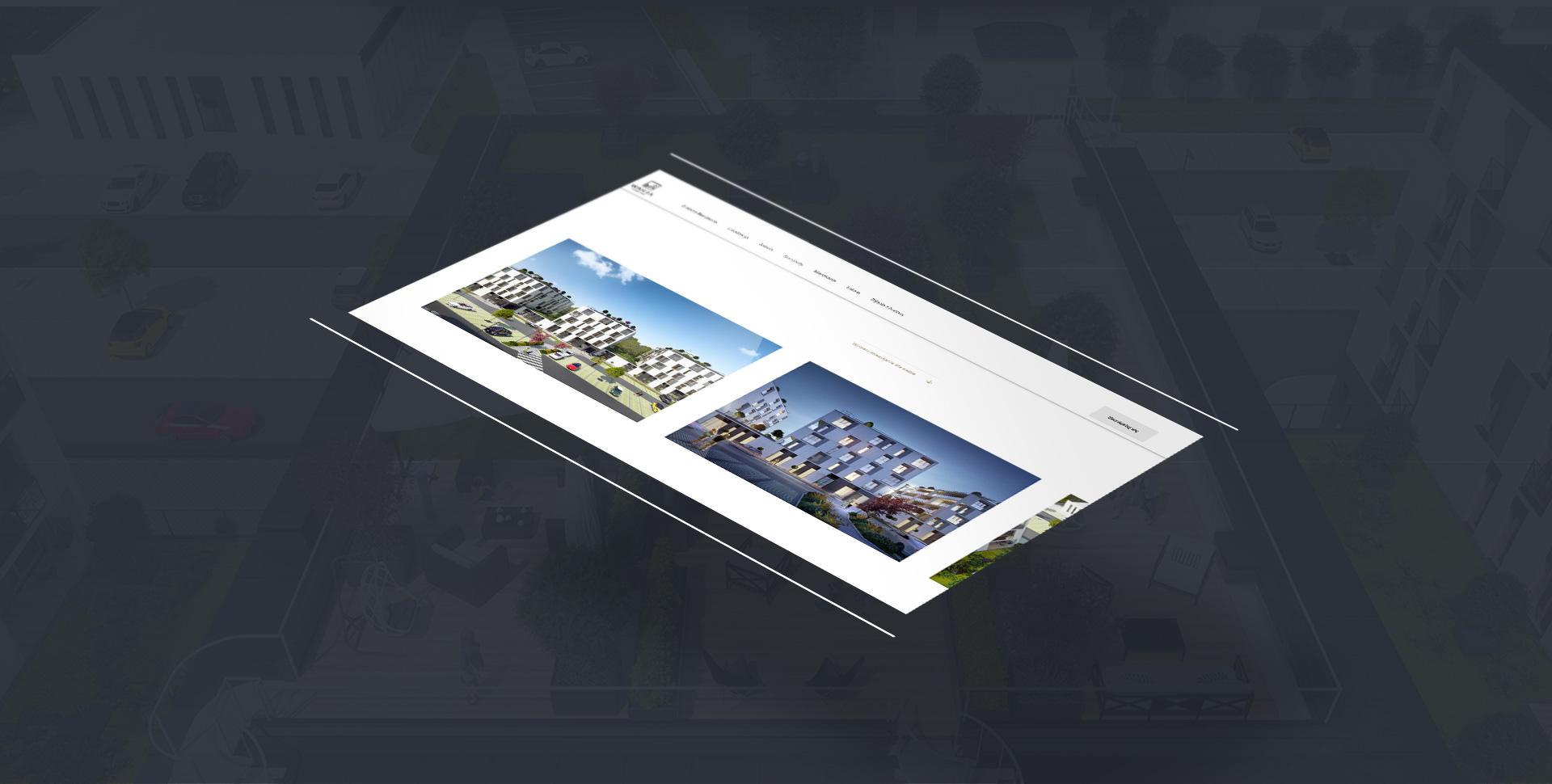 projektowanie stron internetowych poznań warta residence