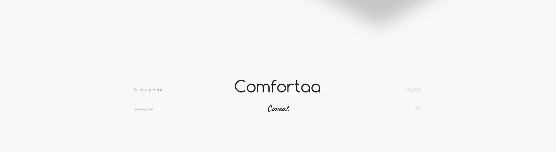 comforta to font użyty w stronie danmis