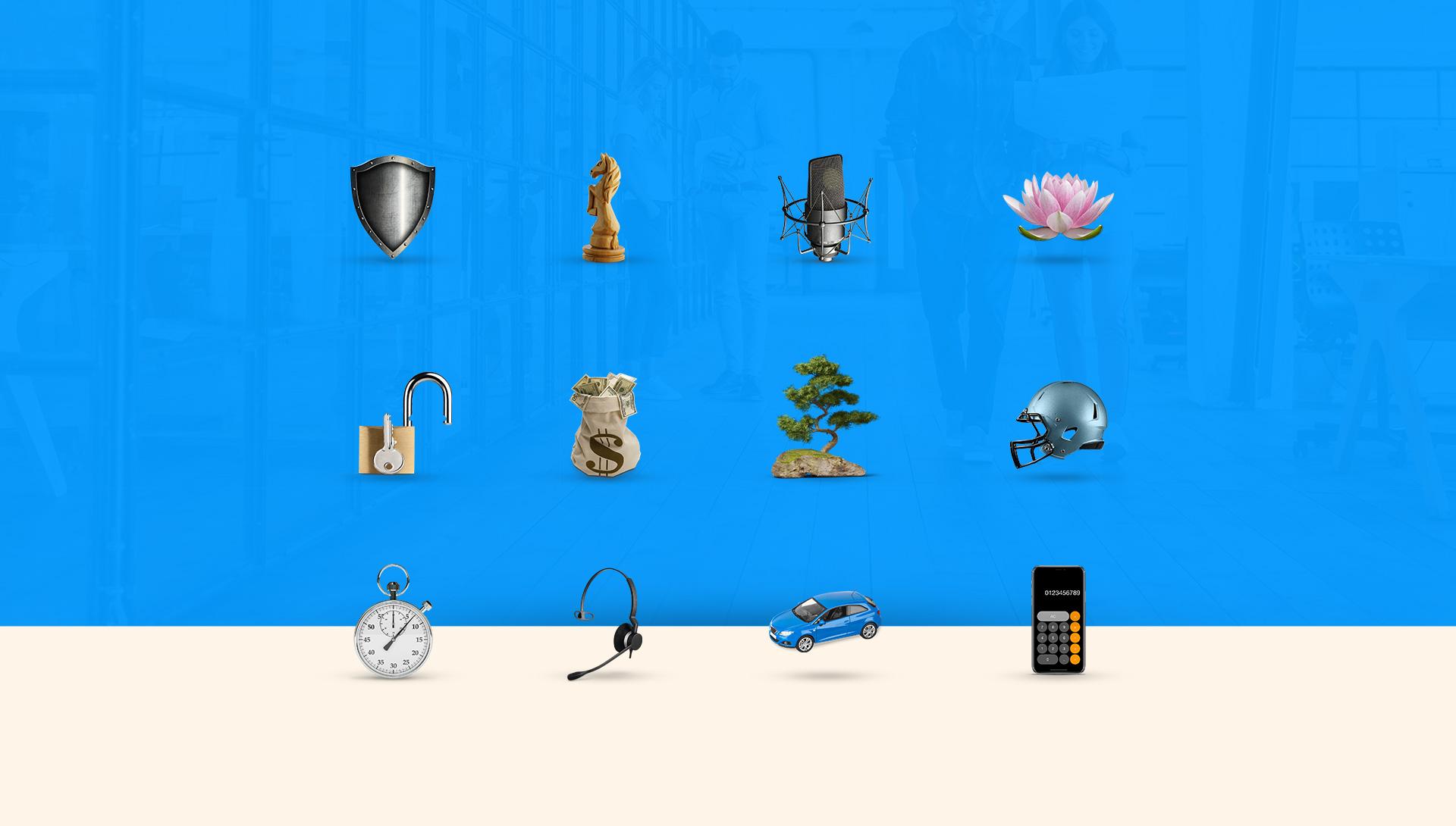 ikonki na stronie GEKKO