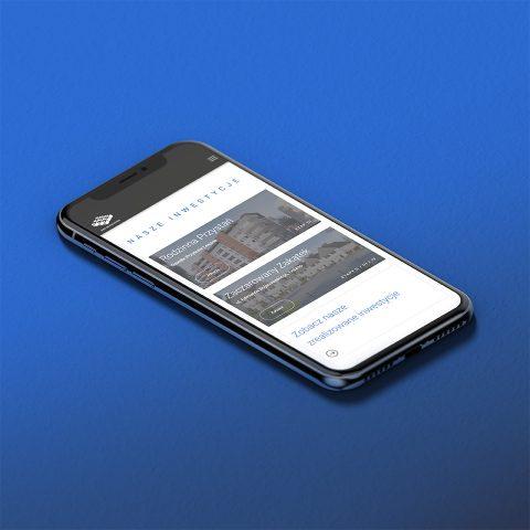 strona www dewelopera strona internetowa mobilna wersja